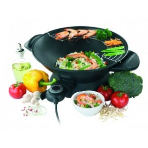 Domo DO8705 Elektrischer Wok mit Thermostat